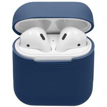 iMoshion Coque en silicone AirPods - Bleu