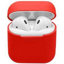 iMoshion Coque en silicone AirPods - Rouge
