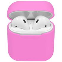 iMoshion Coque en silicone AirPods - Rose Fluo