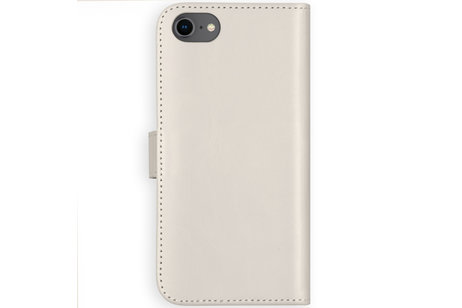 Selencia Étui de téléphone portefeuille en cuir véritable iPhone SE (2020) / 8 / 7 / 6(s)