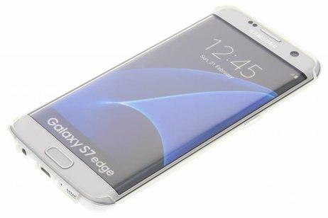 Samsung Galaxy S7 Edge hoesje - Coque silicone pour le
