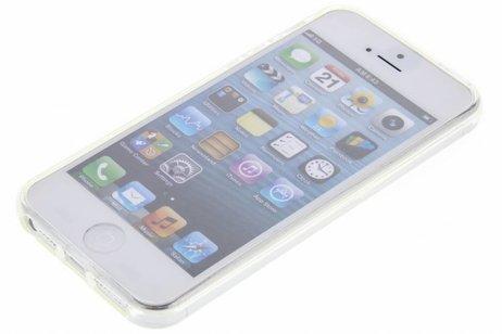 Coque silicone pour l'iPhone SE / 5 / 5s - Transparent