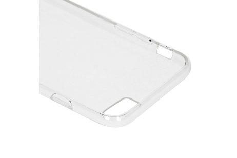 Coque silicone pour l'iPhone SE (2020) / 8 / 7 / 6(s) - Transparent