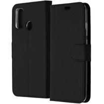 Accezz Étui de téléphone Wallet Huawei P Smart (2020) - Noir