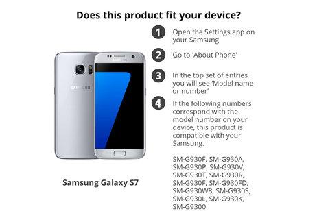 Selencia Protection d'écran premium en verre durci Samsung Galaxy S7