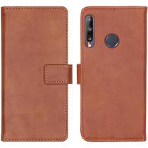 iMoshion Étui de téléphone portefeuille Luxe Huawei P40 Lite E - Brun