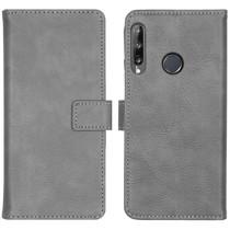 iMoshion Étui de téléphone portefeuille Luxe Huawei P40 Lite E - Gris