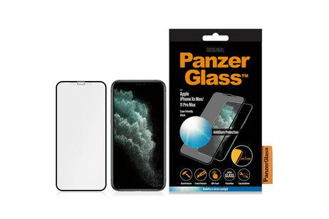 PanzerGlass Protection d'écran Case Friendly AntiGlare pour l'iPhone 11 Pro Max / Xs Max - Noir