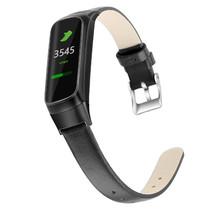 iMoshion Bracelet en cuir véritable Samsung Galaxy Fit - Noir