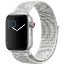 iMoshion Bracelet en nylon Apple Watch Serie 1/2/3/4/5 42/44mm -Blanc