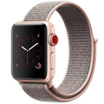 iMoshion Bracelet en nylon Apple Watch Serie 1/2/3/4/5 42/44mm - Rose