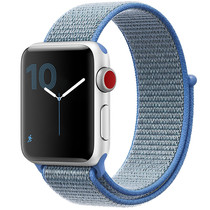 iMoshion Bracelet en nylon Apple Watch Serie 1/2/3/4/5 42/44mm - Bleu