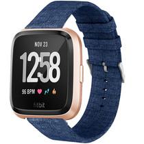 iMoshion Bracelet en nylon Fitbit Versa 2 / Versa Lite - Bleu