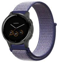 iMoshion Bracelet en nylon Garmin Vivoactive 4L - Bleu
