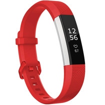 iMoshion Bracelet silicone Fitbit Alta (HR) - Rouge
