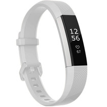 iMoshion Bracelet silicone Fitbit Alta (HR) - Blanc