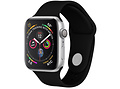 iMoshion Bracelet silicone pour l'Apple Watch Serie 1/2/3/4/5 42/44 mm - Noir