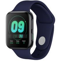 iMoshion Bracelet silicone Oppo Watch 41 mm - Bleu foncé