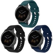 iMoshion Multipack bracelet silicone Garmin Vivoactive 4L