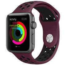 iMoshion Bracelet silicone sport Apple Watch 42/44mm - Rouge