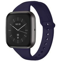 iMoshion Bracelet silicone Fitbit Versa 2 / Versa Lite - Bleu foncé