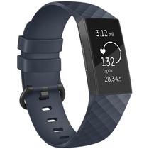 iMoshion Bracelet silicone Fitbit Charge 3 / 4 - Bleu foncé