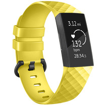 iMoshion Bracelet silicone Fitbit Charge 3 / 4 - Jaune