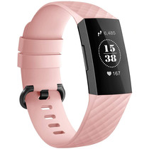 iMoshion Bracelet silicone Fitbit Charge 3 / 4 - Rose
