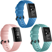 iMoshion Multipack bracelet silicone Fitbit Charge 3 / 4
