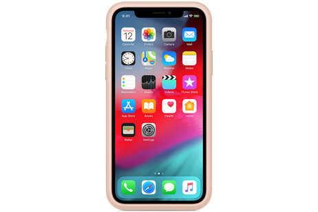 Apple Coque Smart Battery pour l'iPhone Xs / X - Pink Sand
