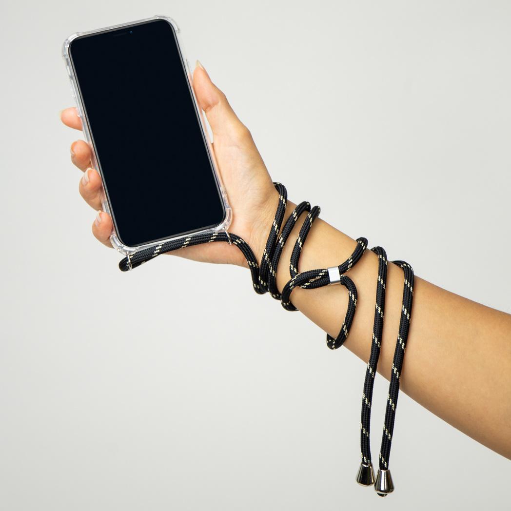 6.7 - Vert fonc/é//oro mtb more energy/® Collier pour Apple iPhone 12 Pro Max Coque pour Smartphone /à Porter au Cou /Étui /à bandouli/ère Cordon