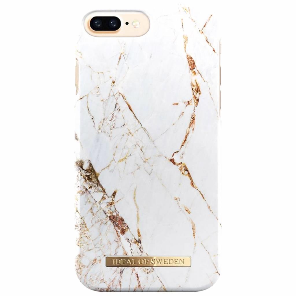 iDeal of Sweden Coque Fashion pour l'iPhone 8 Plus / 7 Plus / 6(s) Plus - Carrara Gold
