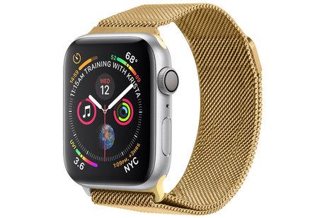 Apple Watch 1/2/3/4/5/6/SE 42/44 mm hoesje - iMoshion Milanais bracelet pour