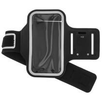 Bracelet de sport Taille Samsung Galaxy A42 - Noir