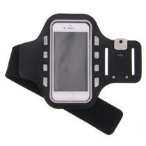 Bracelet de sport Taille Samsung Galaxy A12 - Noir