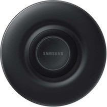 Samsung Fast Charge Wireless Charger Pad Fan Cooling - Zwart