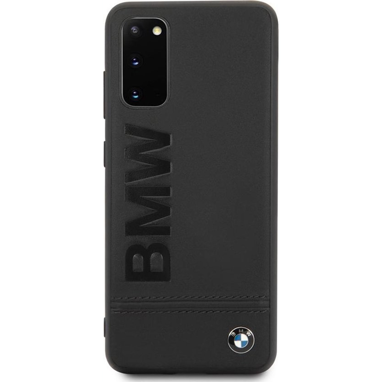BMW Coque en cuir pour le Samsung Galaxy S20 - Noir