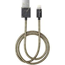 iDeal of Sweden Fashion Lightning vers câble USB - 1m - Port Laurent Marble