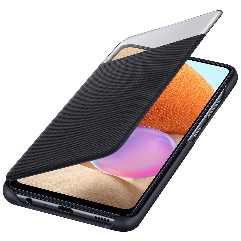 Samsung Coque S View pour le Samsung Galaxy A32 (4G) - Noir
