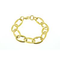 Bracelet acier placage or jaune ROSIE
