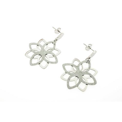 Boucles d'oreilles acier SIERRA