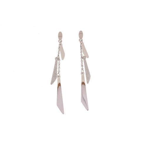 Boucles d'oreilles longues modèle ASSIA