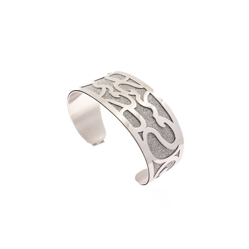 Bracelet rigide acier ELISA