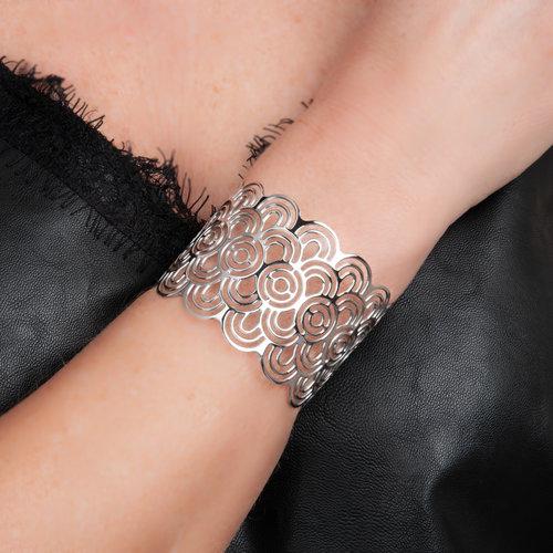 Bracelet rigide acier CHARLIE