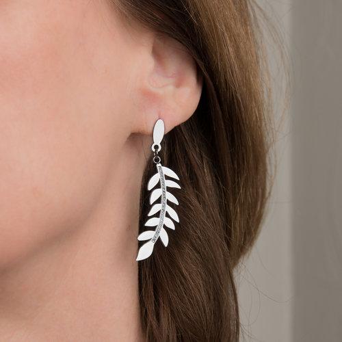 Boucles d'oreilles avec cristaux ASHLEY