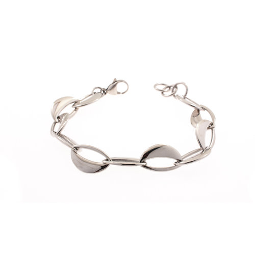Edelstaal armband CLAIRE