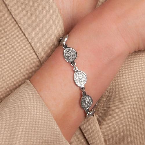 Bracelet acier avec finition spéciale BEATRICE
