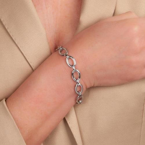 Edelstaal armband SARA