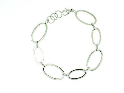 Bracelet acier fin modèle SANDRA