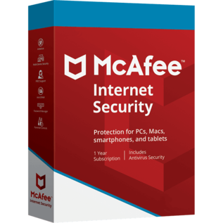 McAfee Internet Security 1 pc / 5 jaar
